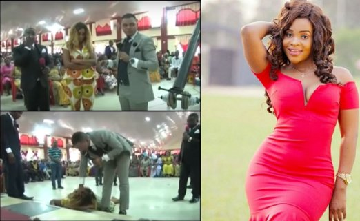 Popular Actress Benedicta Receives Deliverance Openly