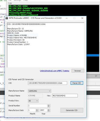 MTK Preloader eMMC Parser Download