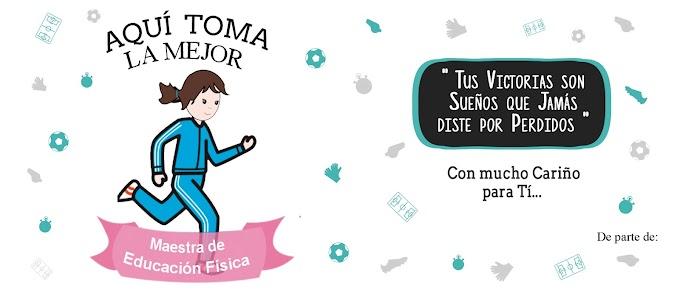 AQUÍ TOMA LA MEJOR MAESTRA DE EDUCACIÓN FÍSICA VERSIÓN 2