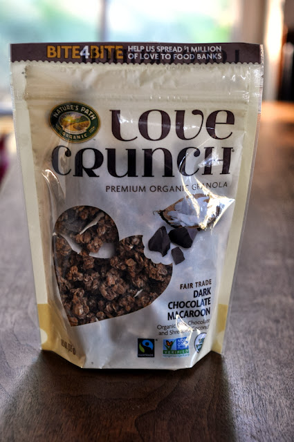 Dark Chocolate Macaroon Granola from Nature's Path Love Crunch | Taste As You Go
