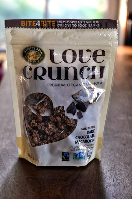Dark Chocolate Macaroon Granola from Nature's Path Love Crunch   Taste As You Go