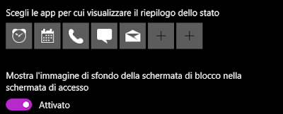 screenshotwin10 - Contenuti in evidenza mostra schermo nero come sfondo in Windows 10 (Windows Spotlight)