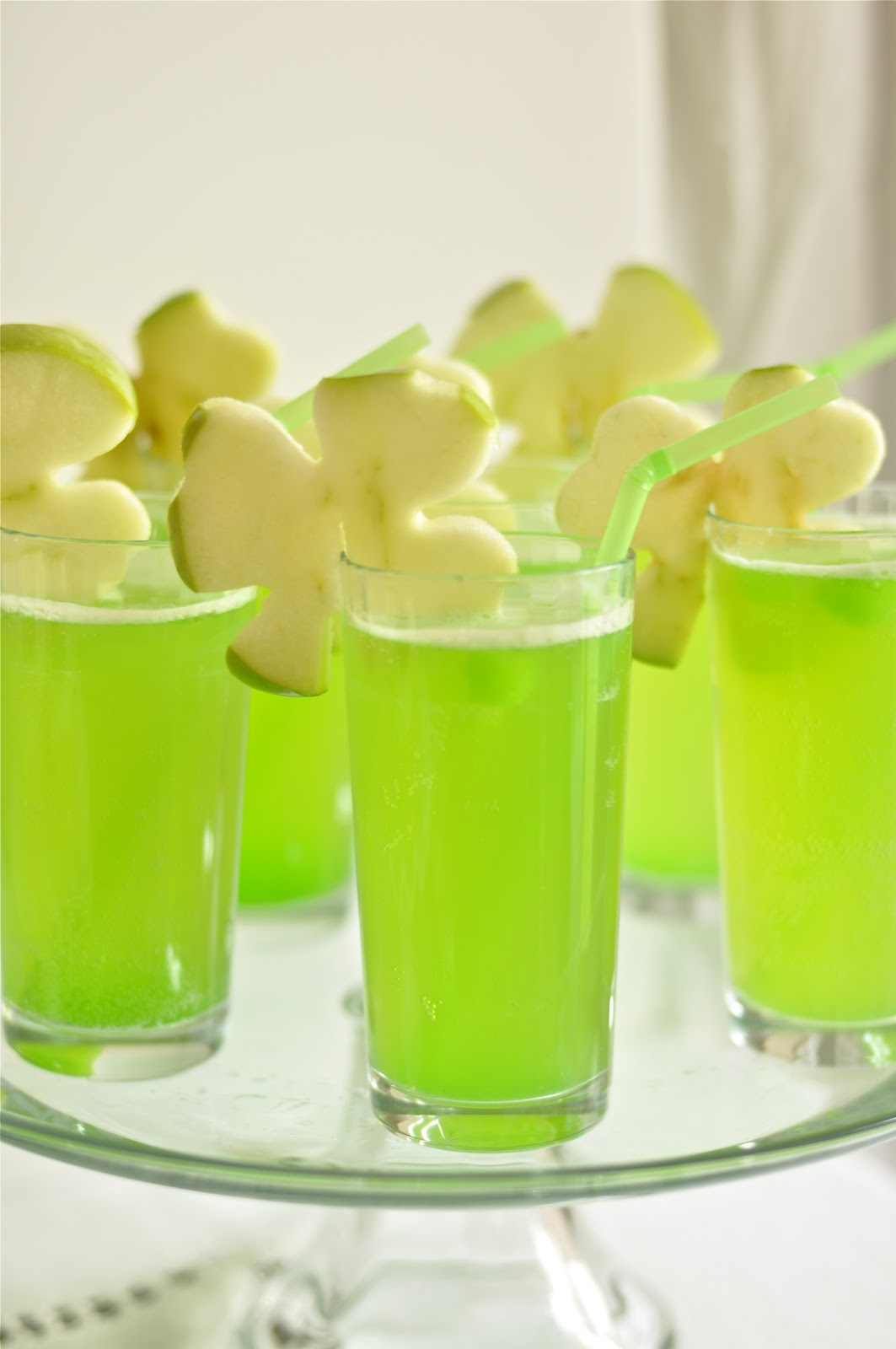 St Patrick's Day Rainbow Inspired Party Drinks