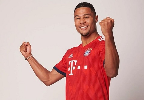 Serge Gnabry tự tin tỏa sáng trong màu áo Bayern Munich