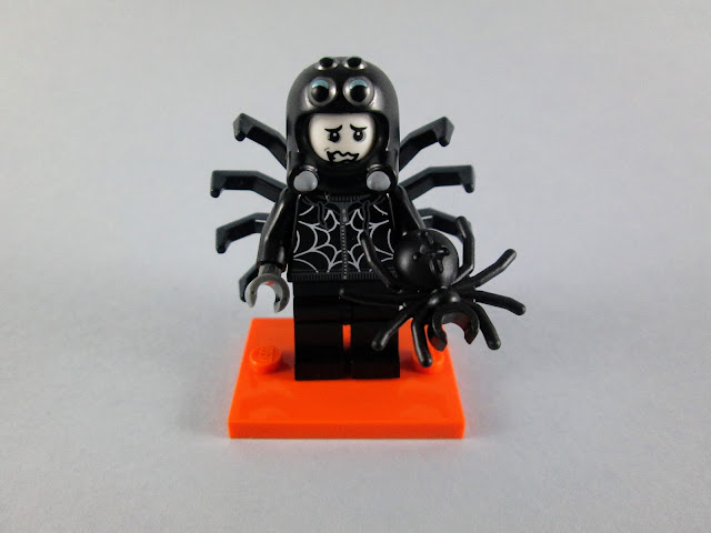 Minifigura Spider Suit Boy da nova serie LEGO de minifiguras 71021 Series 18 - Party