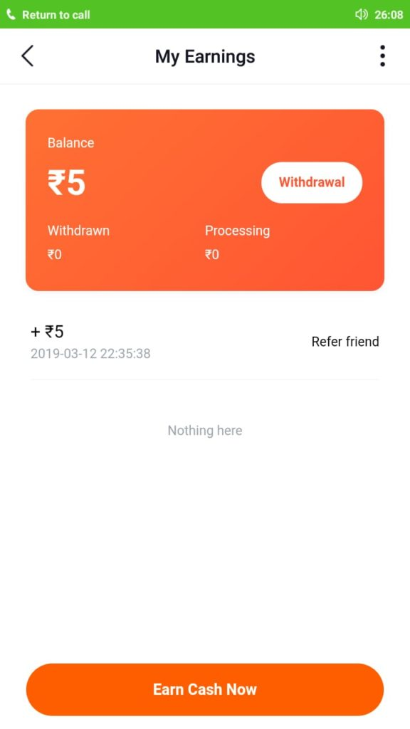 Helo Chat – App New Refer & Earn Offer Rs 5 Paytm Cash