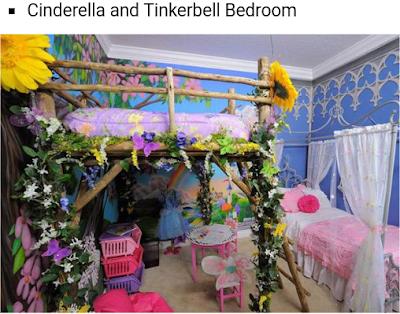 desain tempat tidur anak perempuan