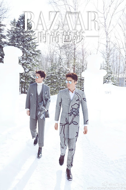 Hu Ge and Wallace Huo