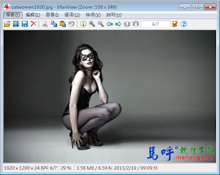 IrfanView Portable 免安裝繁體中文版下載