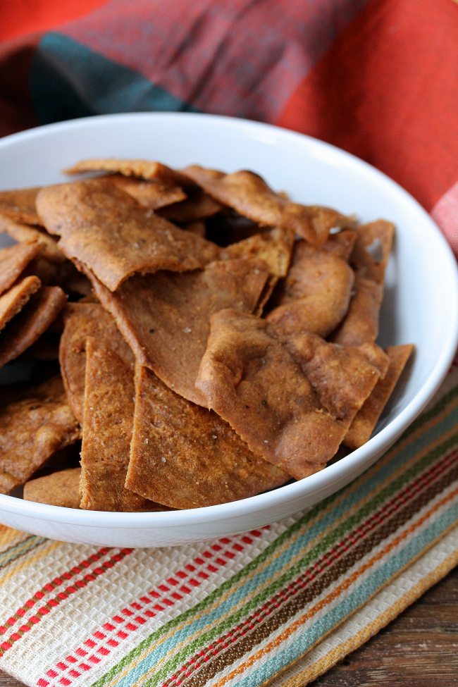 Garlic and Sea Salt Pita Chips