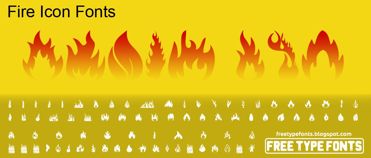 Fire fonts download