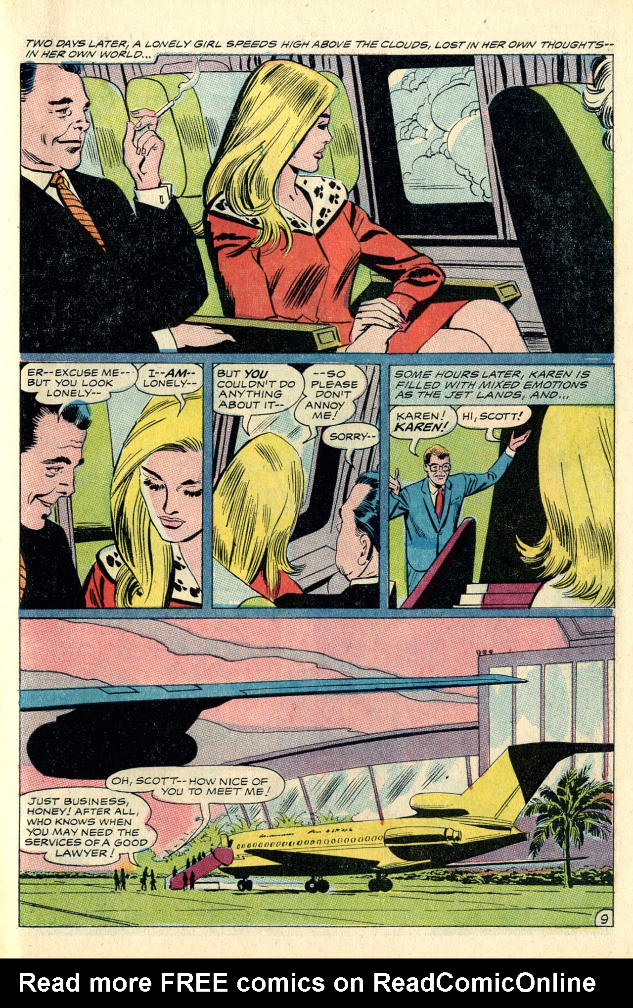 Read online Secret Hearts comic -  Issue #127 - 27