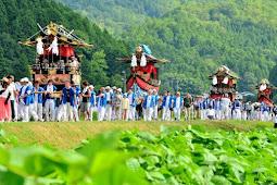 丹波の祇園さん波々伯部神社本祭り