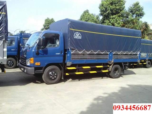 Xe Mighty HD98 thùng bạt