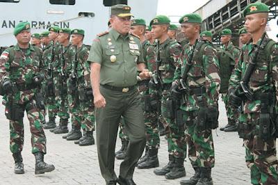 Sekitar 450 Personel TNI Dikirim ke Papua