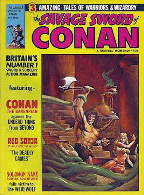 Savage Sword of Conan #18