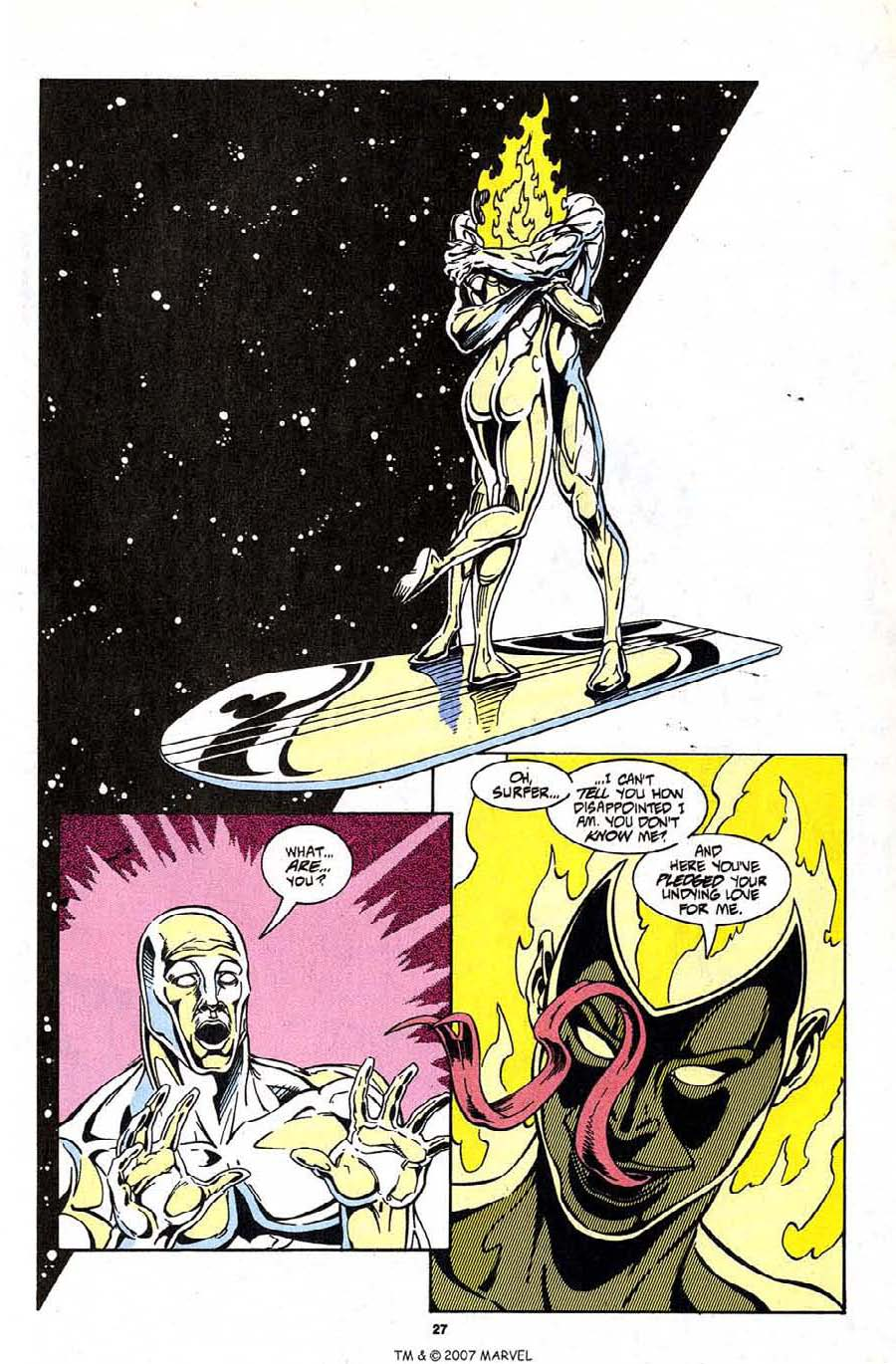 Read online Silver Surfer (1987) comic -  Issue #99 - 29
