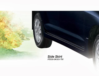side-skirt new innova