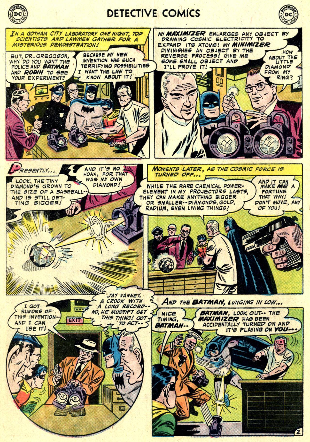 Read online Detective Comics (1937) comic -  Issue #243 - 4