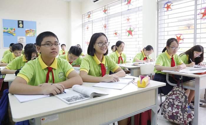 Tuyển sinh vào lớp 10 ngoài công lập năm học 2018 – 2019: Chỉ xét học bạ - Ảnh 1