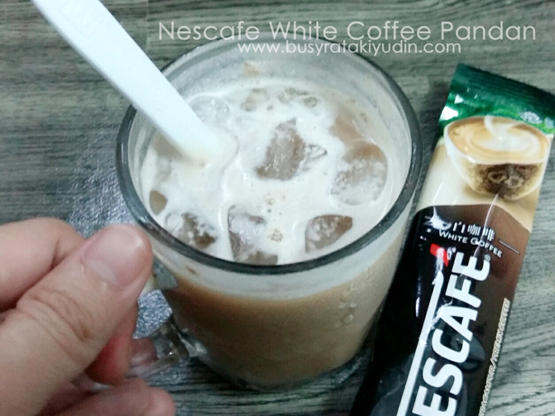 Nescafe White Coffee Pandan