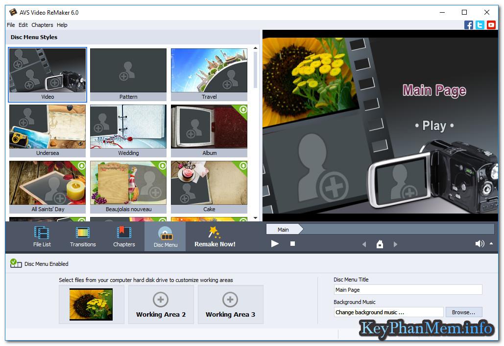 Download AVS Video ReMaker 6.1.1.210 Full Key,Phần mềm biên tập Video siêu đẳng cấp