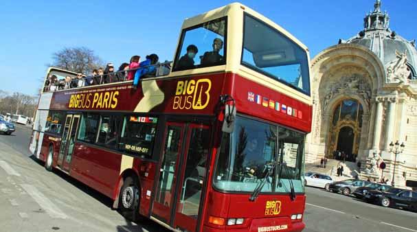 Passeios guiados de ônibus