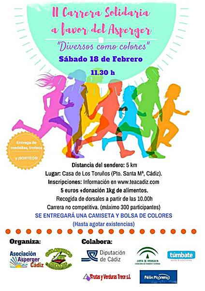 2ª Carrera Solidaria a favor del Asperger