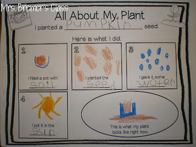 Student Plant Booklet