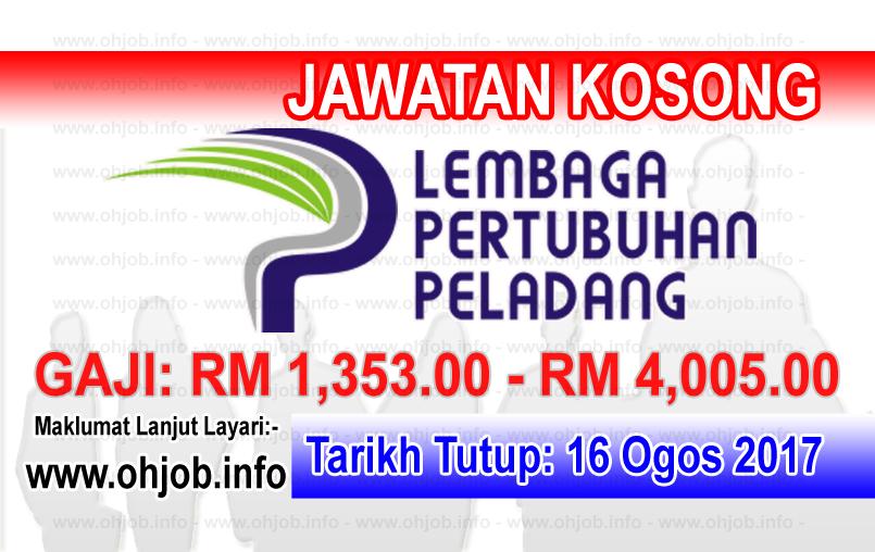 Jawatan Kerja Kosong Lembaga Pertubuhan Peladang - LPP logo www.ohjob.info ogos 2017
