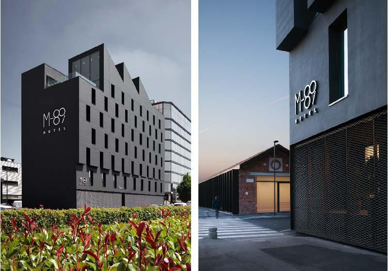 M89 hotel a milano blog di arredamento e interni for Hotel nuovo milano