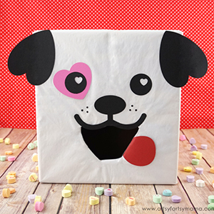 Dog Valentine Box