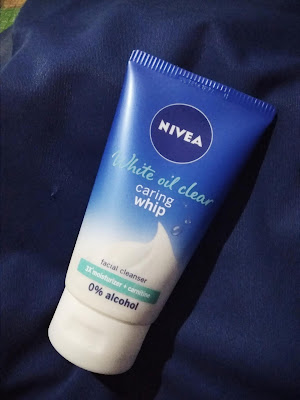 review nivea white oil clear