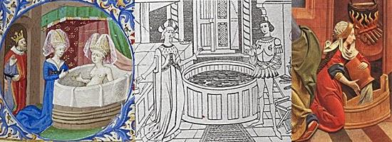 Banho Medieval - Realeza