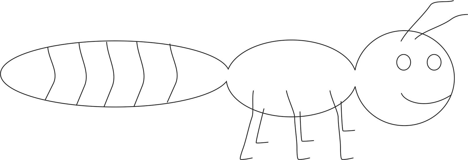 Cara Menggambar Semut Cerita Tentang Semut