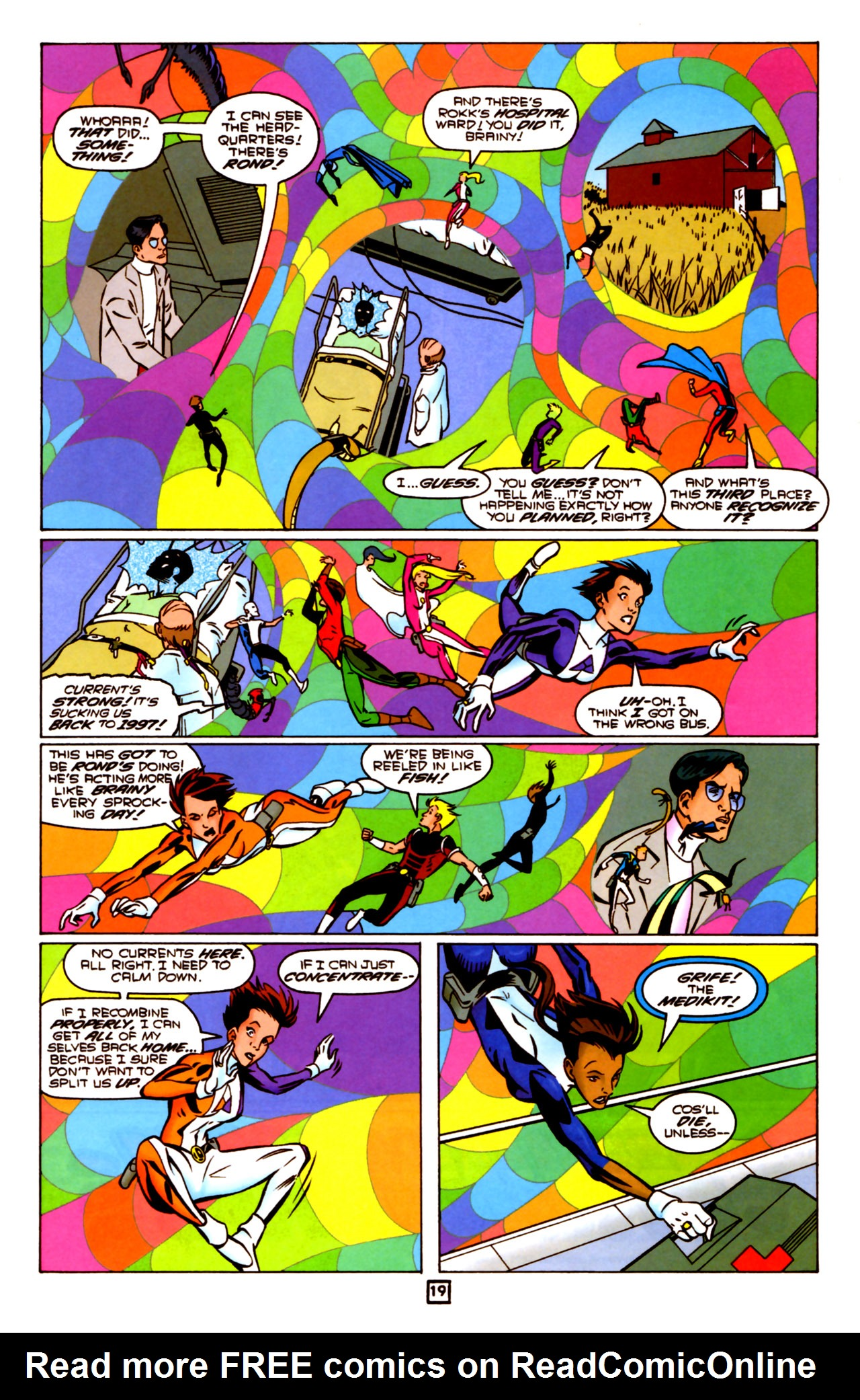 Legion of Super-Heroes (1989) 91 Page 18
