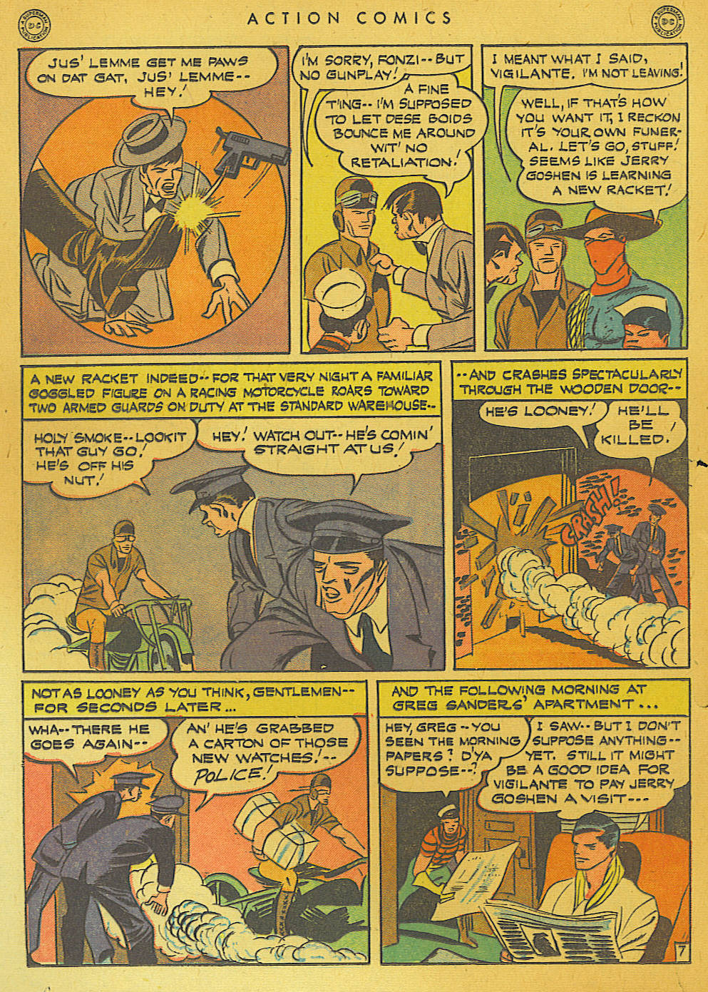 Read online Action Comics (1938) comic -  Issue #74 - 22