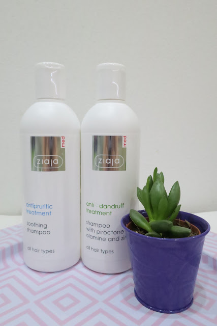 Ziaja Med - liečivé šampóny