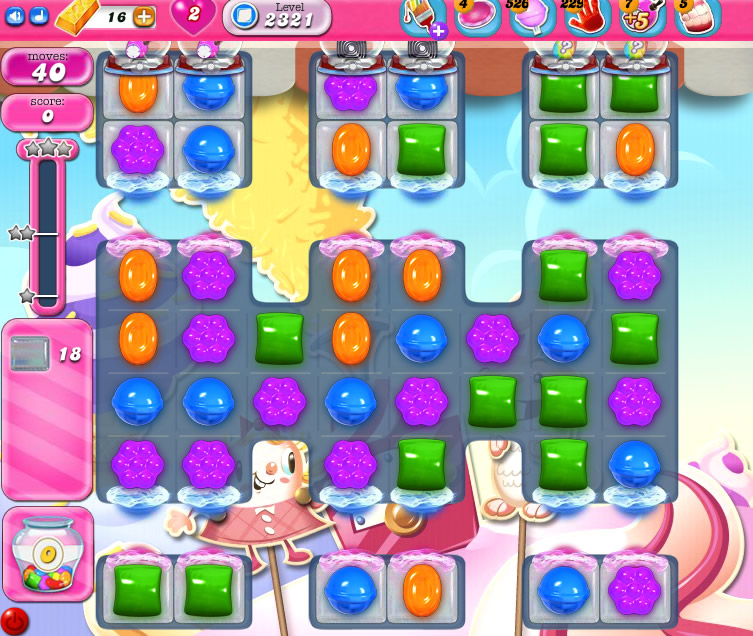 Candy Crush Saga level 2321