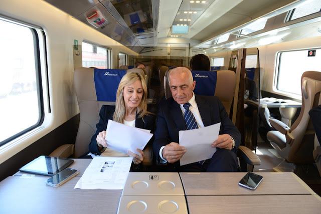 Trens em Florença e na Itália