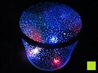 blau rot: LED Sternenhimmel Star Master Nachtlicht Lampe Mobiler Sternen-Projektor Himmel