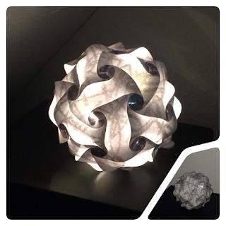 Puzzel Puzzle Lampe Plotter Silhouette Cameo Portrait nili näht