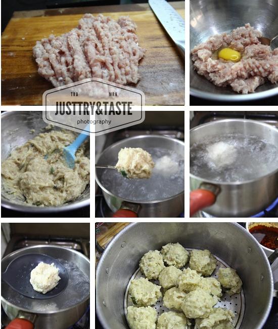 Resep Siomay dengan Minyak Cabai JTT