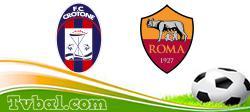 Crotone vs AS Roma