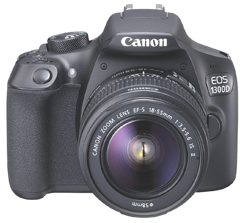 Canon EOS 1300D DSLR Camera (Black) Review and price and
