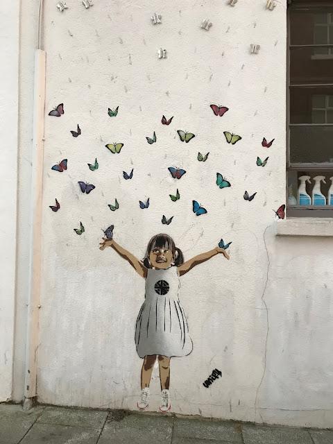 Street art, Whitstable, Kent