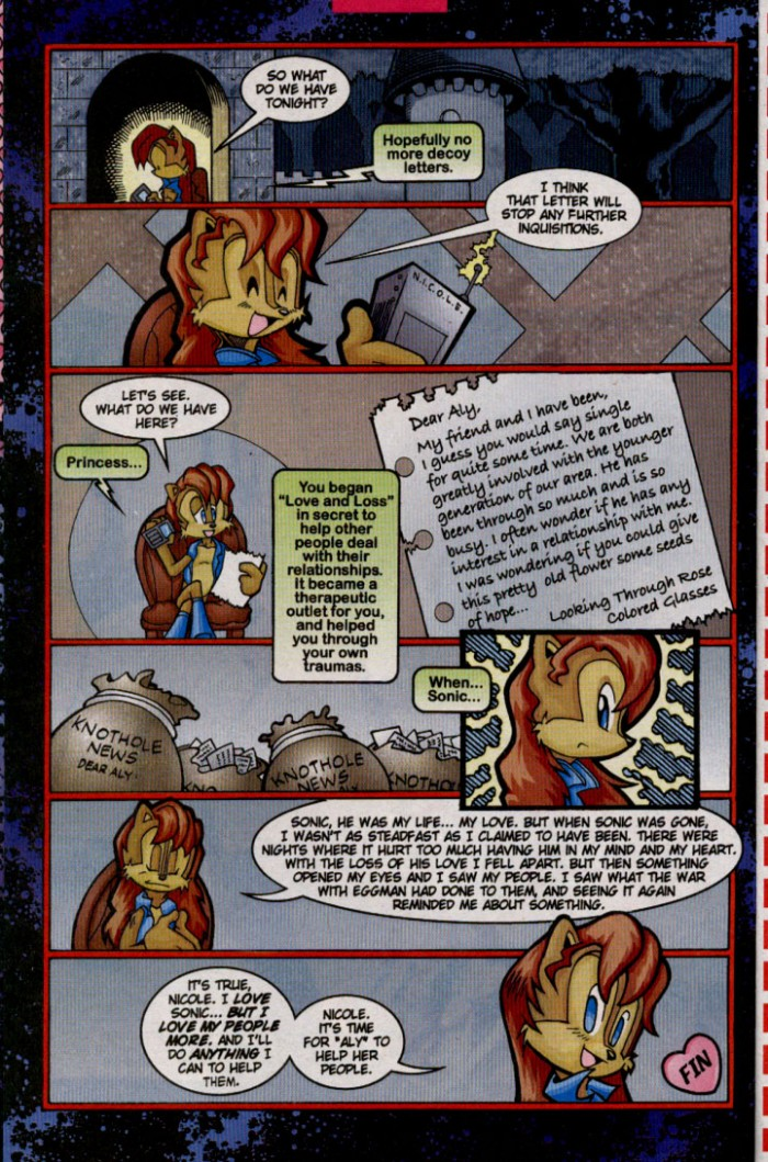 Read online Sonic The Hedgehog comic -  Issue #144 - 22