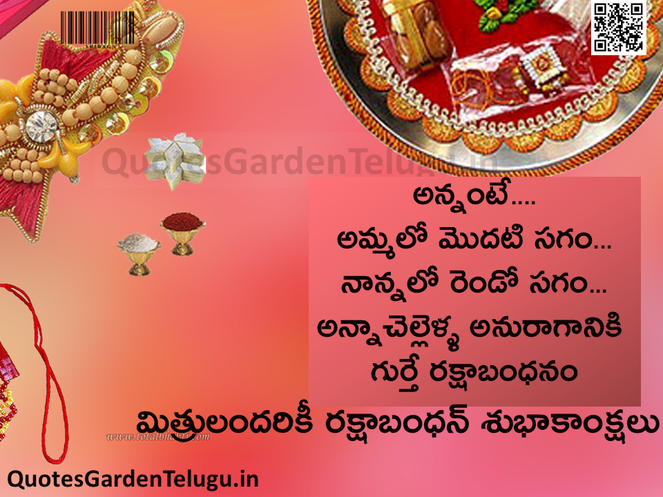 Best Wallpapers for Rakshabandhan festival Greetings in telugu