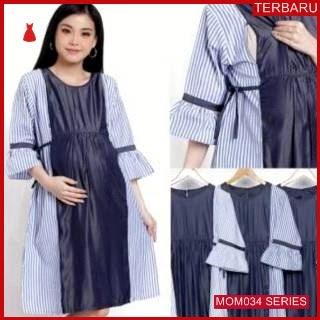 MOM034D16 Dress Hamil Menyusui Modis Lira Dresshamil Ibu Hamil