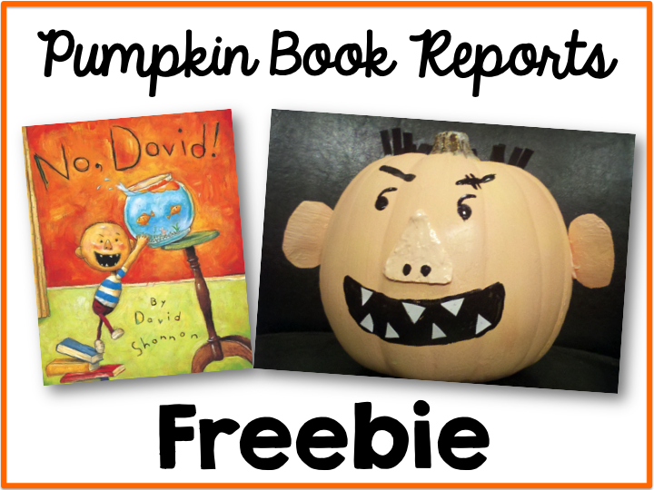 Pumpkin Book Report Freebie Simply Kinder